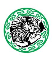 Толстовка без капюшона Спящий кот