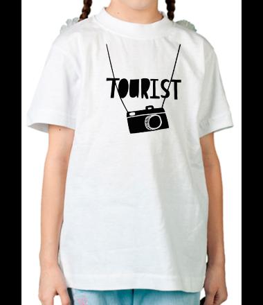 Детская футболка  Tourist