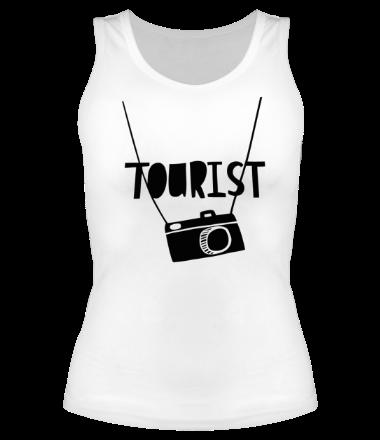 Женская майка борцовка Tourist