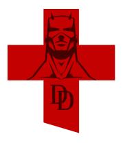 Бейсболка Daredevil