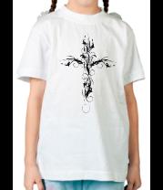 Детская футболка  Ажурный крест