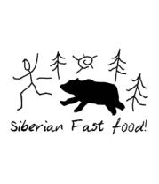 Мужская футболка с длинным рукавом Siberian Fast Food