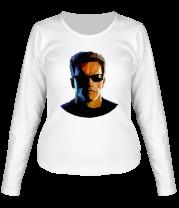 Женская футболка с длинным рукавом Abstraction terminator