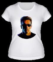Женская футболка  Abstraction terminator