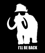 Мужская футболка  Terminammoth. I'll be Back.