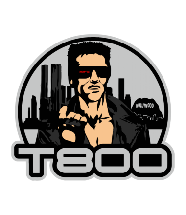 Бейсболка T-800