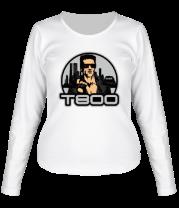 Женская футболка с длинным рукавом T-800