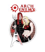 Мужская футболка  Arch Enemy. Michael and Angela.