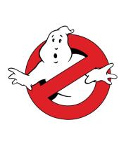 Женская футболка с длинным рукавом Ghostbusters big logo