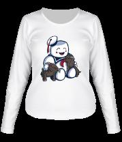 Женская футболка с длинным рукавом Ghostbusters Stay Puft