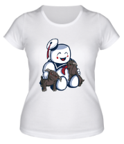 Женская футболка  Ghostbusters Stay Puft