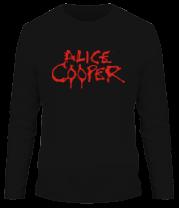 Мужская футболка с длинным рукавом Alice Cooper
