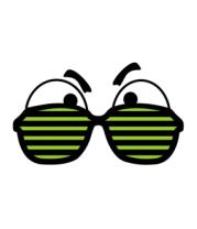 Толстовка Глаза за очками