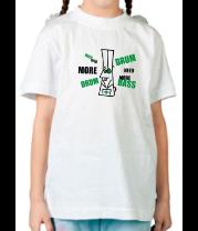 Детская футболка  Need more dnb