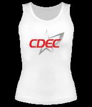 Женская майка борцовка CDEC Team