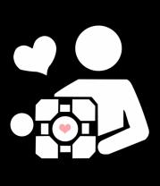 Женская футболка с длинным рукавом Куб компаньон
