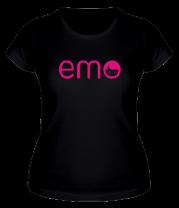 Женская футболка  Emo