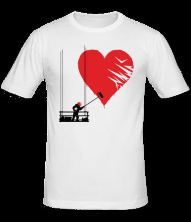Мужская футболка  Маляр