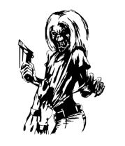Женская майка борцовка Iron Maiden Killers