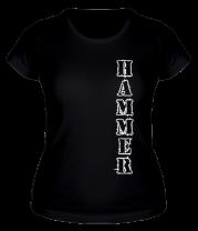 Женская футболка  Тренажёрный зал Hammer (3)