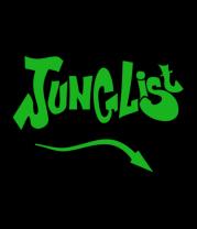 Женская футболка  Junglist