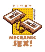 Толстовка Mechanic sex