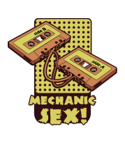 Бейсболка Mechanic sex
