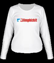 Женская футболка с длинным рукавом Limp Bizkit