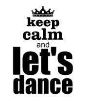 Чехол для iPhone Keep calm & let's dance