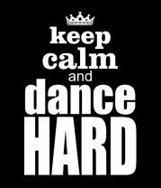 Женская футболка с длинным рукавом Dance hard