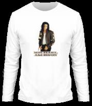 Мужская футболка с длинным рукавом Michael Jackson