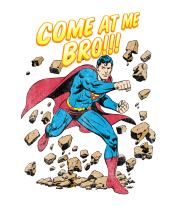 Женская майка борцовка Superman's Feeling lucky
