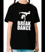 Детская футболка  Break dance girl