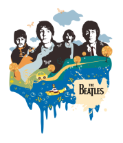 Толстовка без капюшона The Beatles