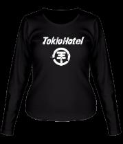 Женская футболка с длинным рукавом Tokio Hotel