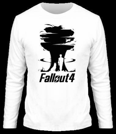 Мужская футболка с длинным рукавом Fallout 4