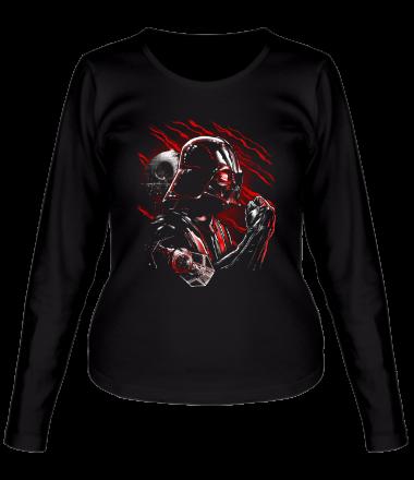 Женская футболка с длинным рукавом Wrath of Darth Vader