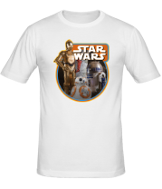 Мужская футболка  Дроиды