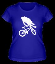Женская футболка  BMX