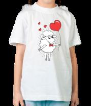 Детская футболка  Влюблённый овен
