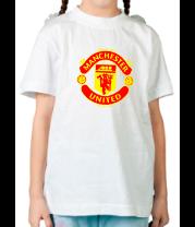 Детская футболка  Manchester United