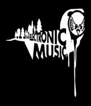 Детская футболка  Electronic music