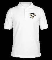 Футболка поло мужская Pittsburgh Penguins
