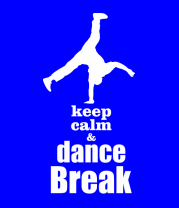 Мужская футболка с длинным рукавом Keep_calm & dance break man