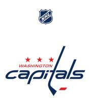 Женская футболка  Washington Capitals   NHL