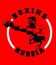 Детская футболка  Бокс