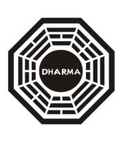 Трусы мужские боксеры Dharma logo (lost)