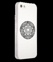 Чехол для iPhone Звезда пентаграмма и кельтский орнамент