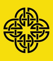 Женская футболка  Кельтский геометрический узор