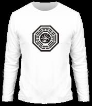 Мужская футболка с длинным рукавом Станция Гидра (The Hydra)